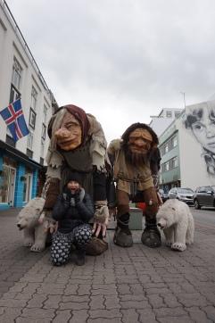 Trolls d'Akureyri, Islande
