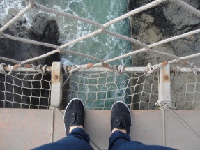 Carrick-a-Rede-Rope-Bridge, Irlande
