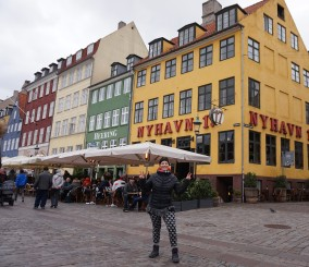 Port de Nyhavn, Copenhague, Danemark