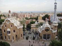 Parc Guell, Barcelone, Espagne