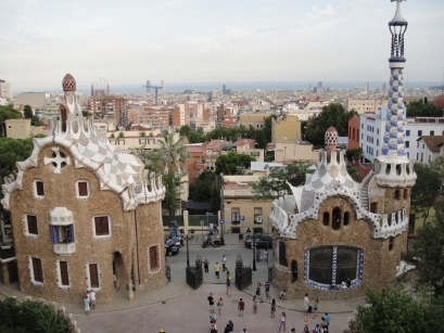 Parc Guell, Barcelone, Espagne