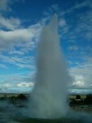 Geyser Strokkur, Islande