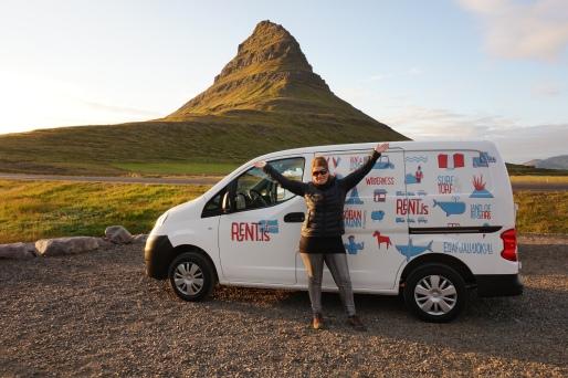 Mont Kirkjufell, Islande