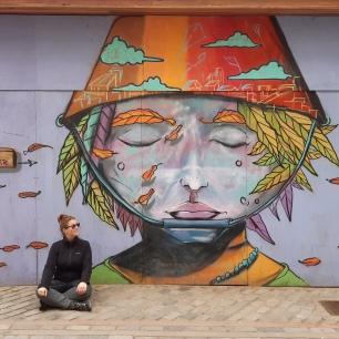 Street Art dans Valpo.