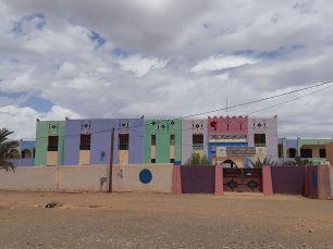 Très jolies les petites écoles colorées du Maroc!