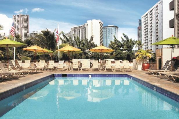 Ambassador Hôtel, Waikiki