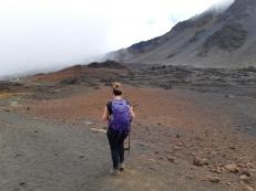 Randonnée pédestre au Haleakala National Park