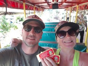 Prêts pour la visite ... À bord du Pineapple Express!