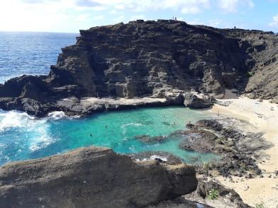 Une autre plage paradisiaque de l'île d'Oahu!